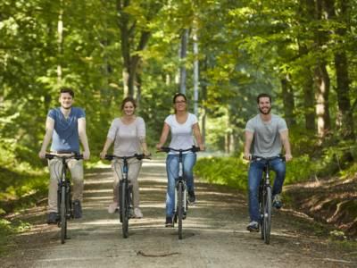 Fahrradfahren im Deister (Region Hannover, Niedersachsen)