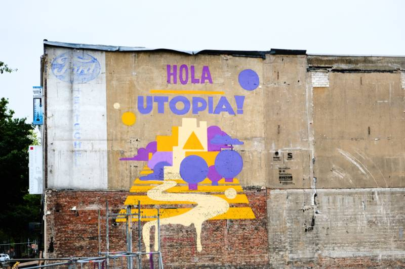 Graffiti in der Nikolaistraße