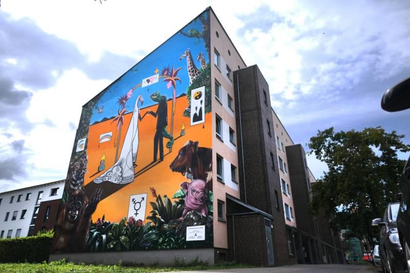 Graffiti in der Bodestraße