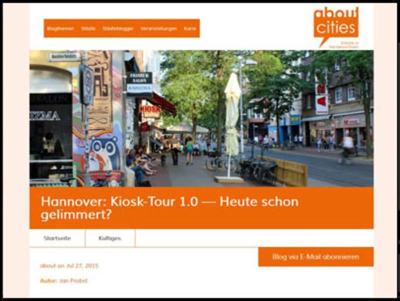 Kiosk-Tour