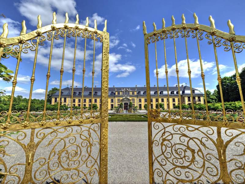 Goldenes Tor in Herrenhausen