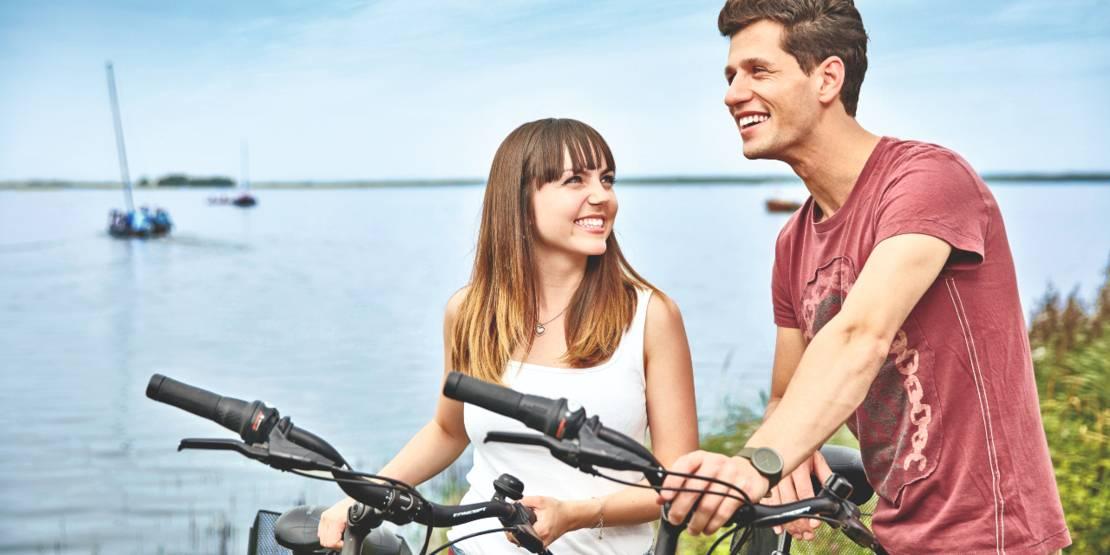 Radfahren am Steinhuder Meer