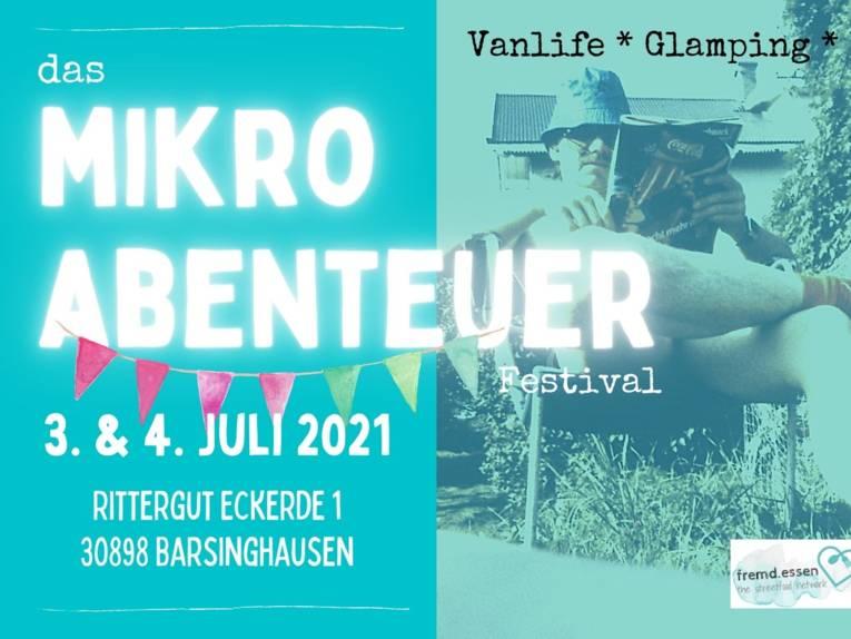 Vanlife, Glamping, Food & Music: Mikroabenteuer auf dem Rittergut Eckerde