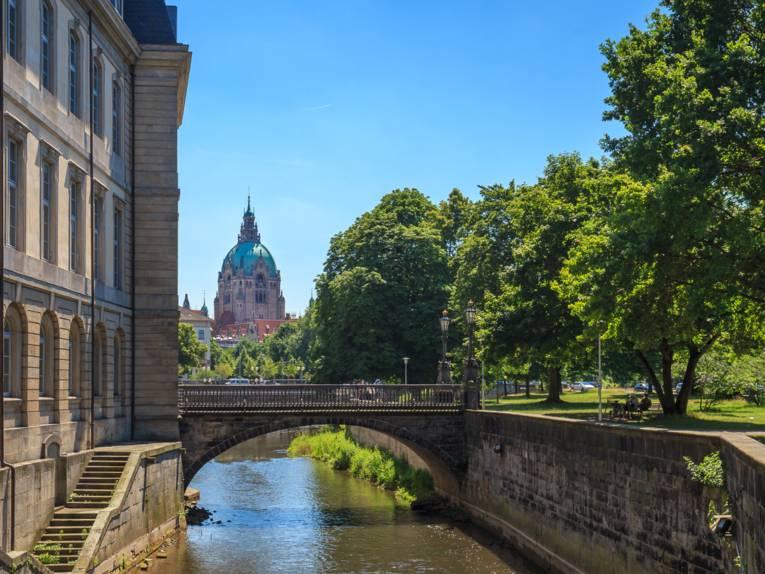 Leineschloss & Neues Rathaus an der Leine
