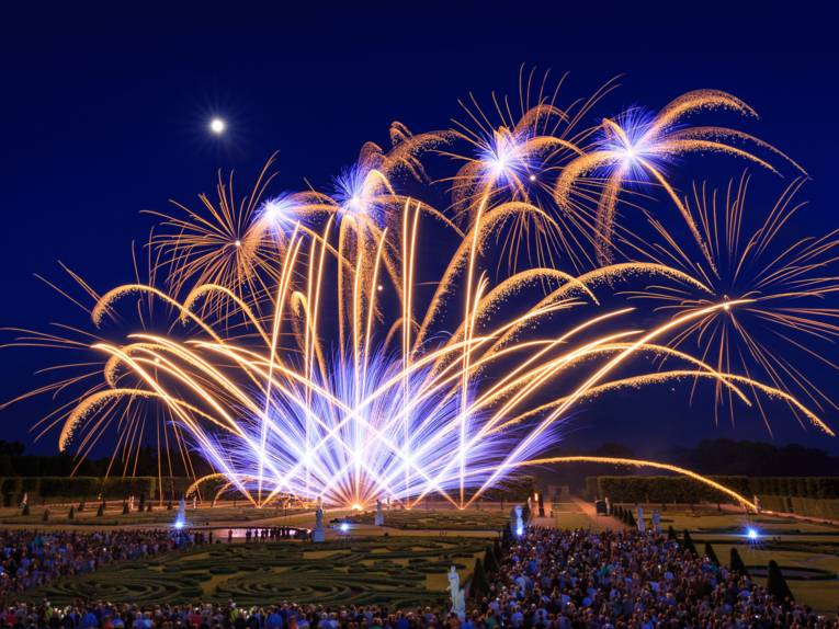 Feuerwerk in den Herrenhäuser Gärten