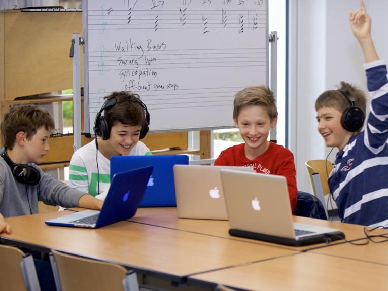 Schulunterricht in der Internationalen Schule