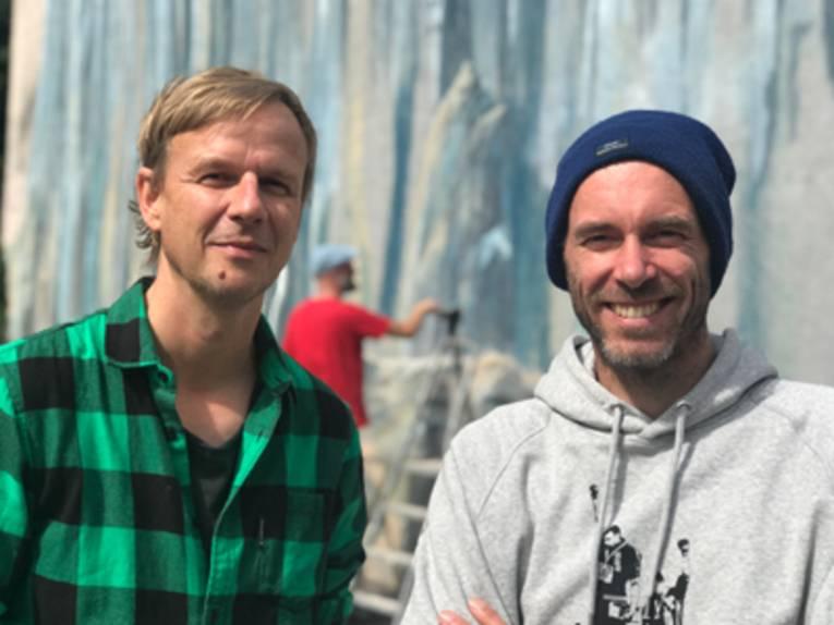 Künstler Artie Ilsemann & Jascha Müller