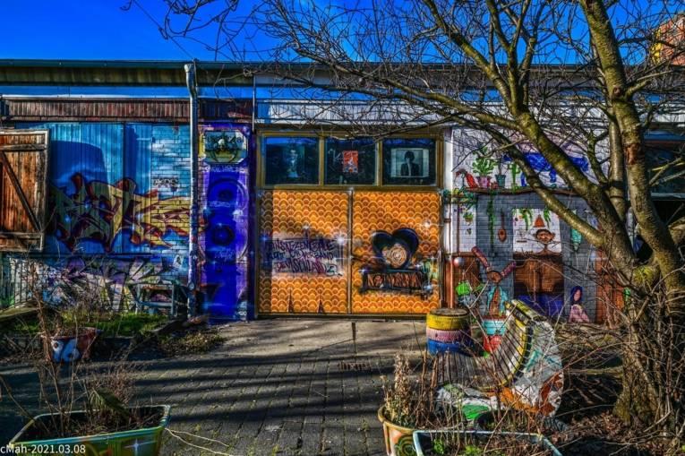 Café Glocksee: Wand