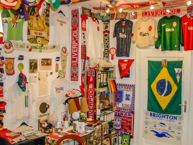 Das Fußballmuseum in Springe
