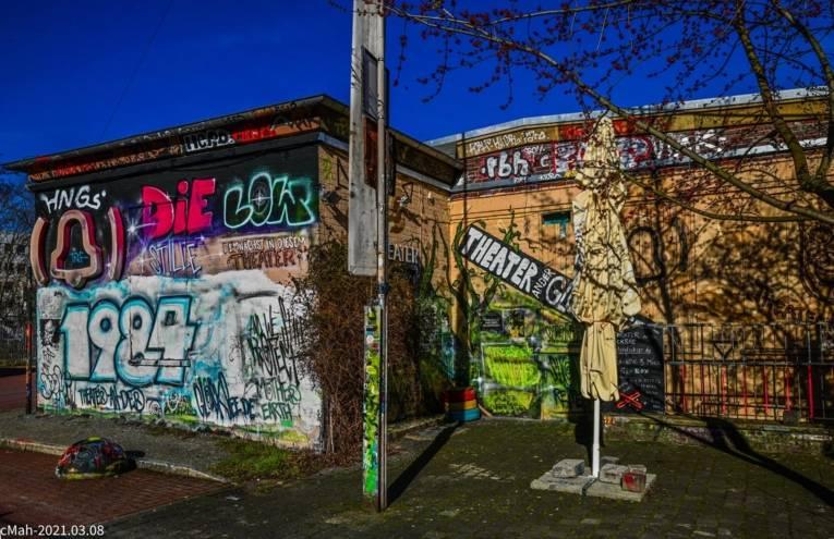 Café Glocksee: Eingang