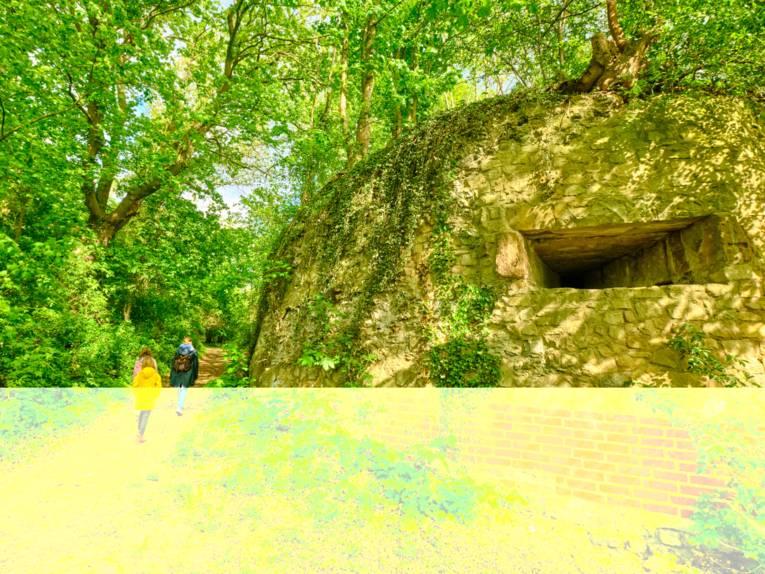 Ausflugsziel: Die Ruinen der Feste Calenberg
