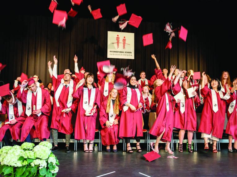 Abschlussfeier in der Internationalen Schule