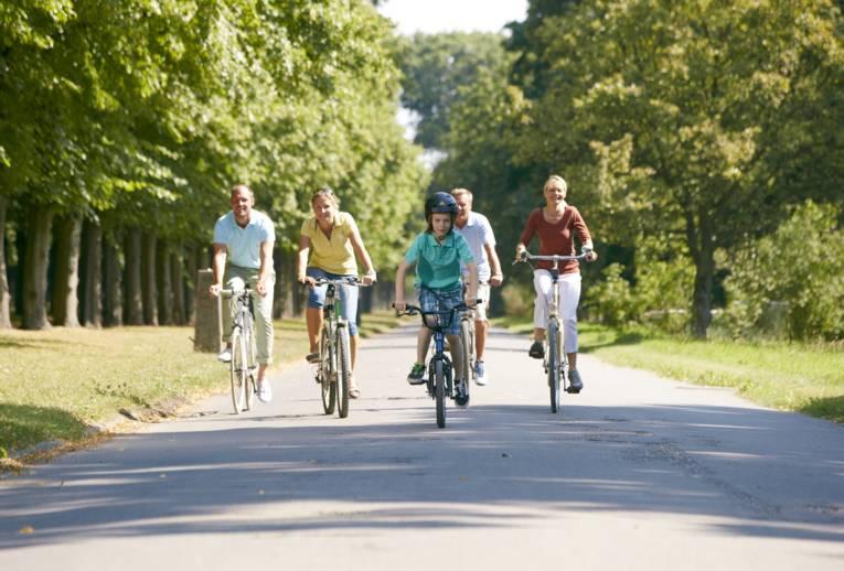Radfahren in den Herrenhäuser Gärten