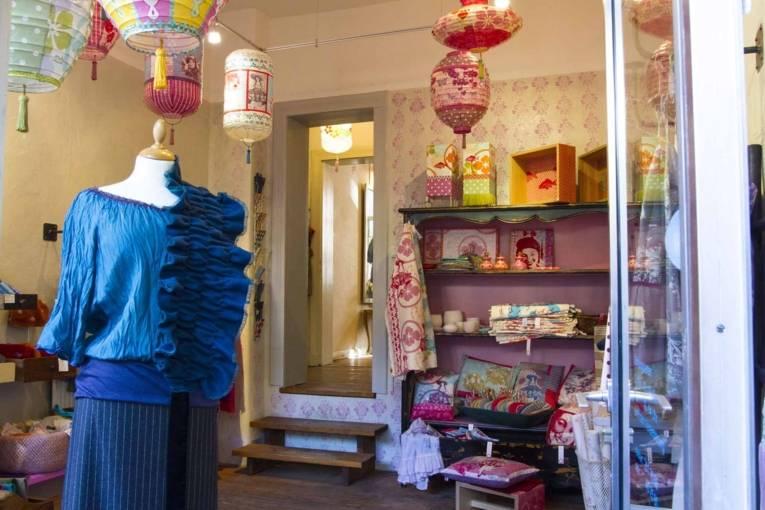 Frau Zimmer Textilgalerie Linden