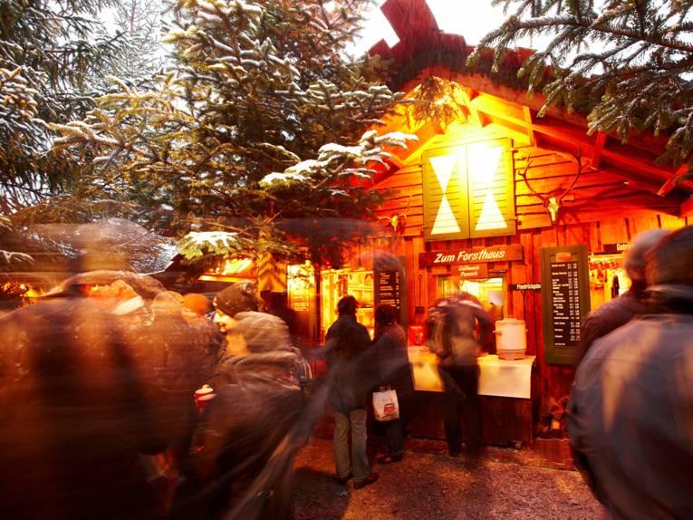 Weihnachtsmarkt Hannover Wunschbrunnenwald
