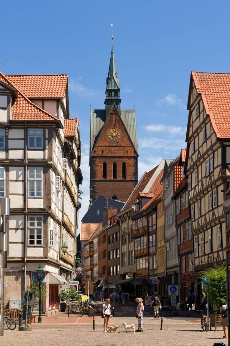 Altstadt mit Turm der Marktkirche