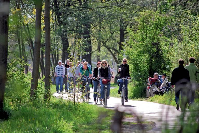 Radfahren in der Urlaubsregion