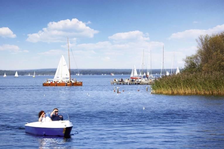 Bootsfahrt-Steinhuder Meer