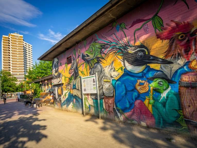 Graffiti am Küchengarten/11A