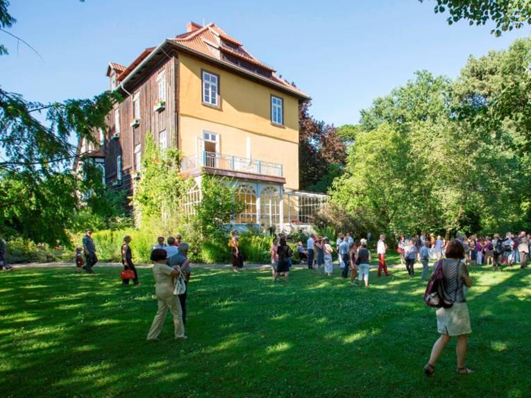 Garten und Gebäude des Rittergutes Edelhof Ricklingen