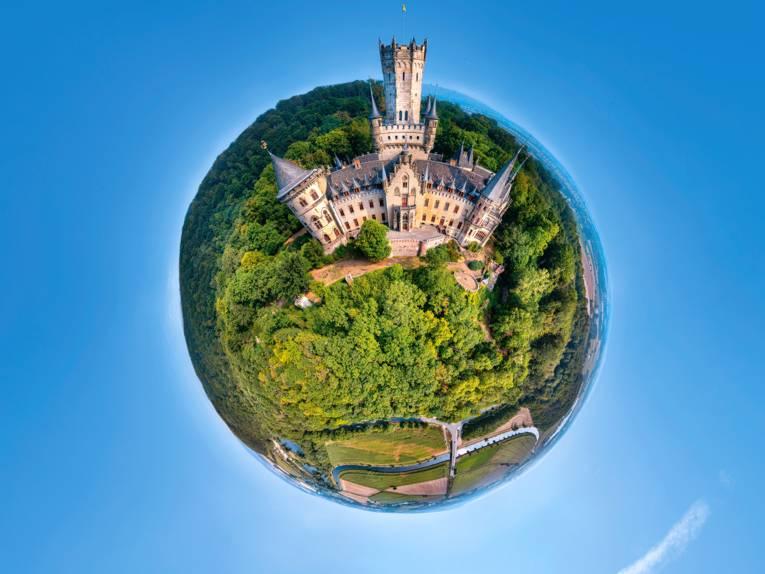 360 Grad Panorama Marienburg