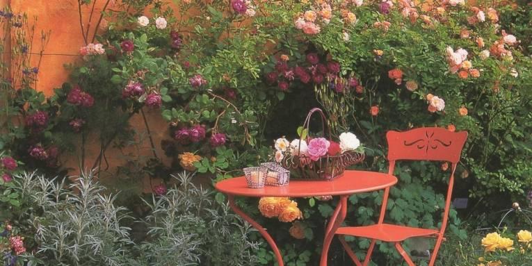 Historische Rosengärten