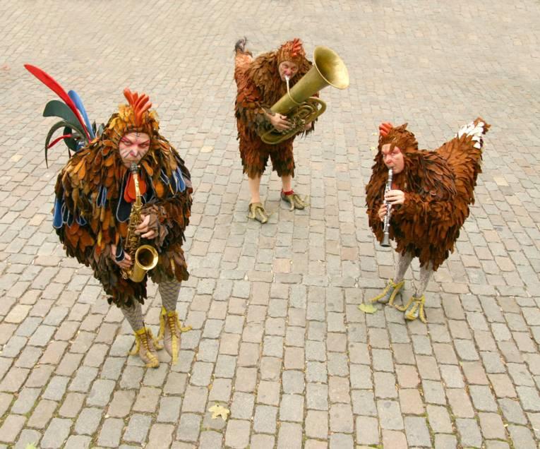 Musikalischer Hühnerhaufen