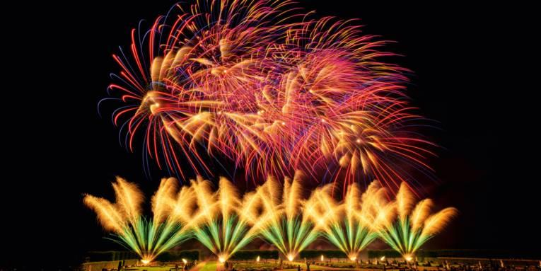 Freuen Sie sich auf ein einzigartiges Feuerwerk vom australischen Team in den Herrenhäuser Gärten.