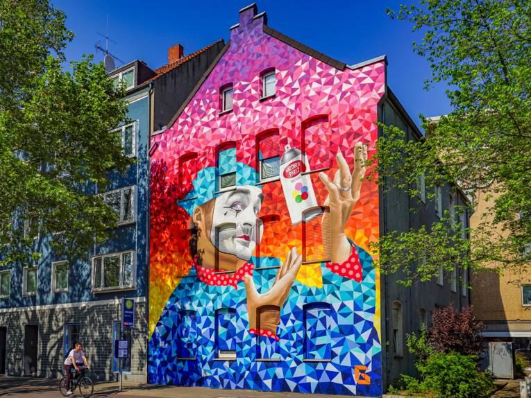 Mural von PARIZ ONE & mrdheo