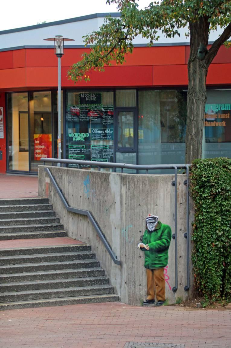Monkey Movement am Raschplatz