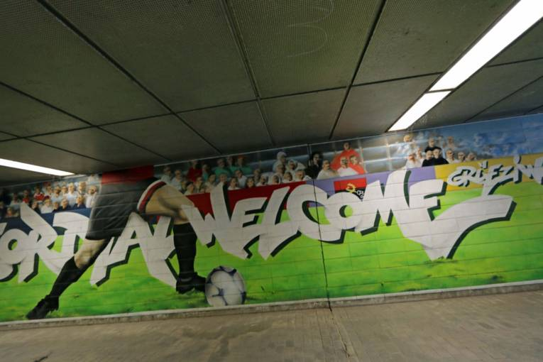 Welcome to Hannover - Graffiti im Waterloo-Tunnel