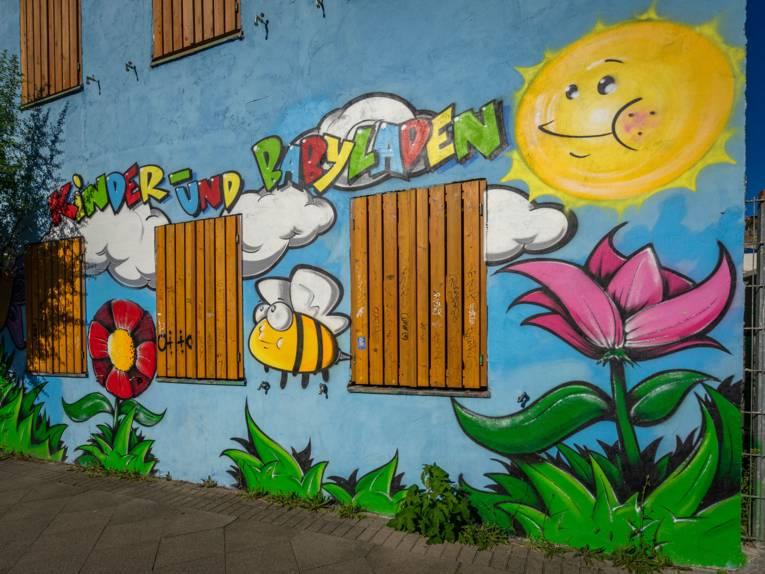 Kinder- und Babyladen in der Kornstraße