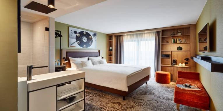 Doppelzimmer im me and all Hotel Hannover