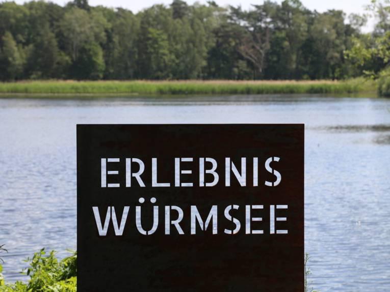 Der Würmsee in Kleinburgwedel