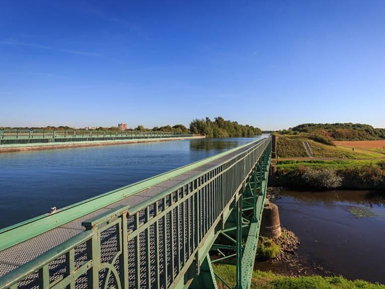 Trogbrücke in Seelze