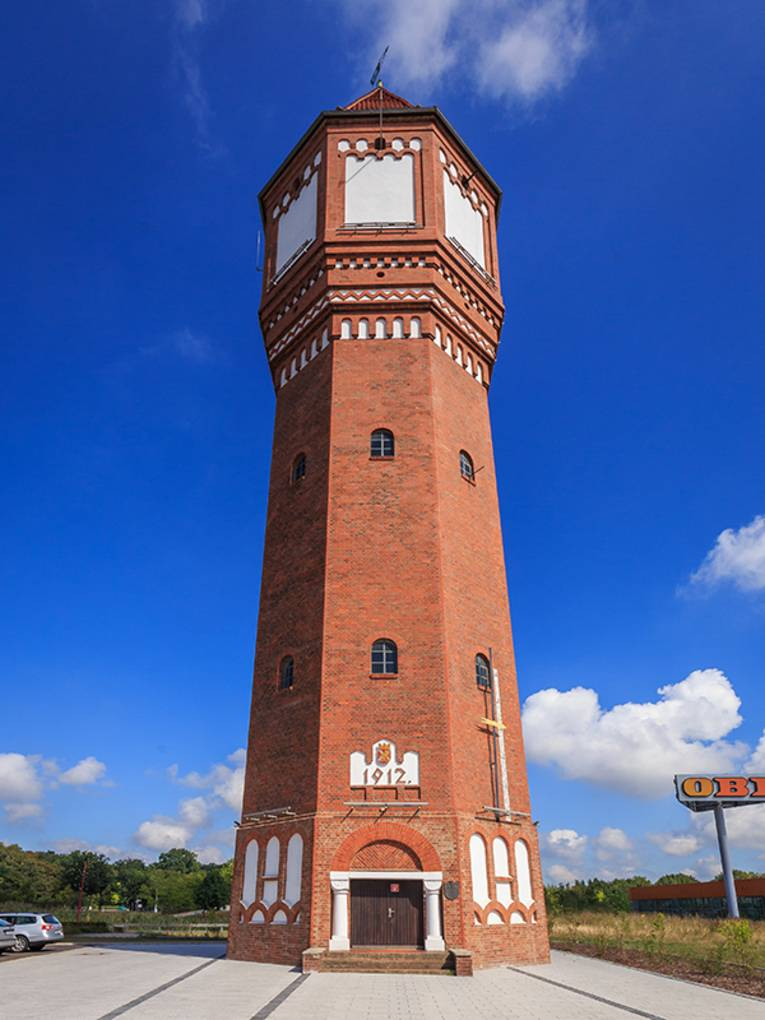 Wasserturm im Hohnhorstpark in Lehrte