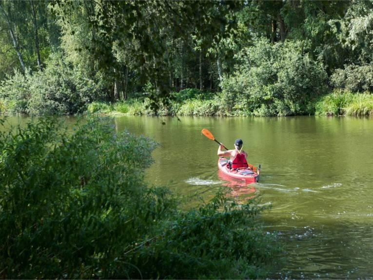 Entdeckertour auf dem Hagenburger Kanal