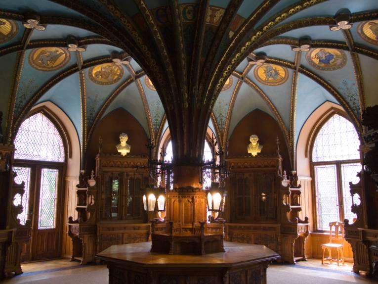 Bibliothek der Königin auf Schloss Marienburg
