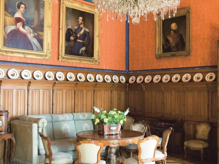 Schloss Marienburg - Saal der Königin