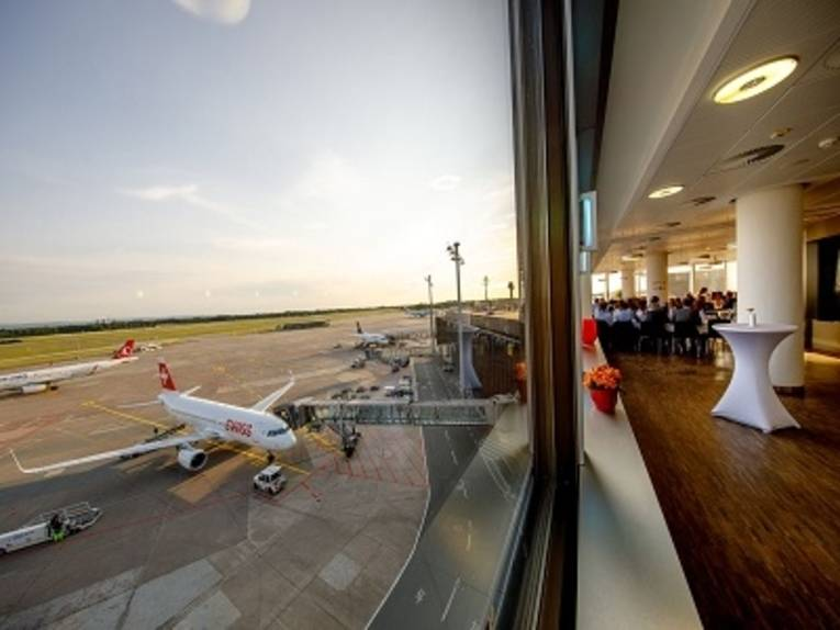 Panorama Skylight im Flughafen Hannover
