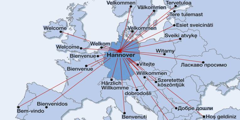 Hannover - a great location in the centre of Europe