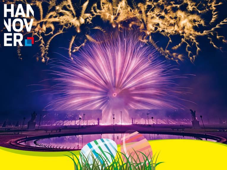 Feuerwerkswettbewerb / Ostern