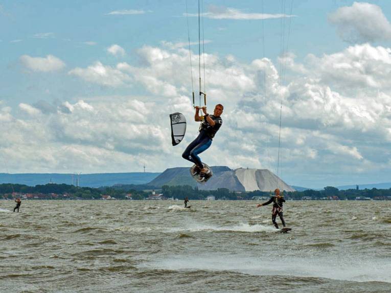 Kitesurfen am Steinhuder Meer