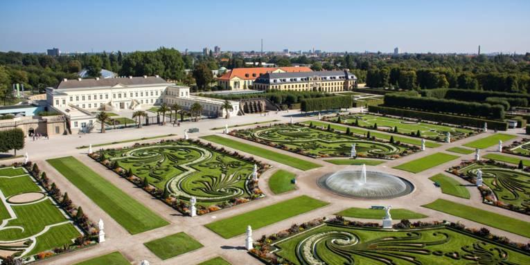 Great Garden with Castle of Herrenhausen