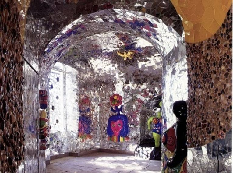 Die Grotte in den Herrenhäuser Gärten.