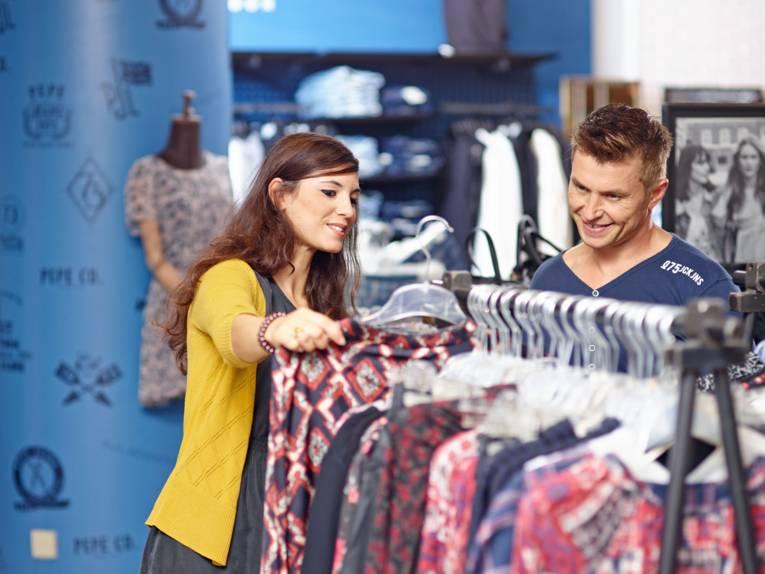 Einkaufsspaß am Sonntag