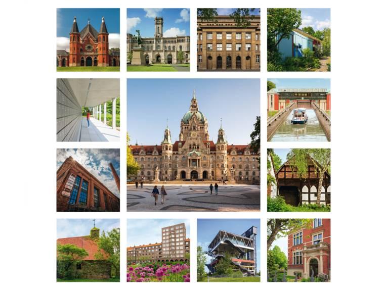 Entdecke Dein Hannover - Collage