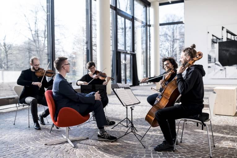 """Das """"Orchester im Treppenhaus"""""""