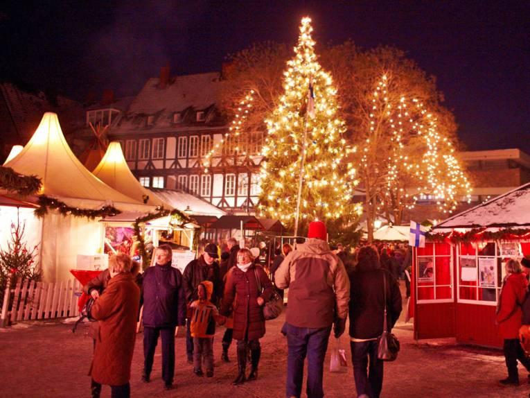 Finse kerstdorp