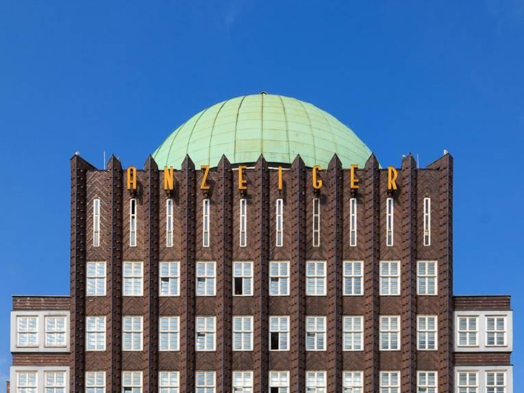 Das Anzeigerhochhaus im Print-Standort Hannover.